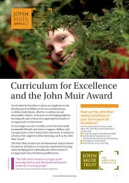 Curriculum for Excellence and the John Muir Award - Cairngorms ...
