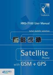 Hughes 7100 Quick Reference Guide - Satellite Internet | Phone