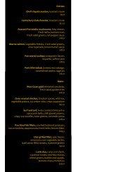 April 2012 Dinner menu in format - Canterbury Club