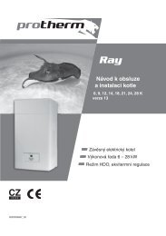 Protherm - elektrokotel ke stažení v PDF formátu - HS CONSULT, s.r.o.