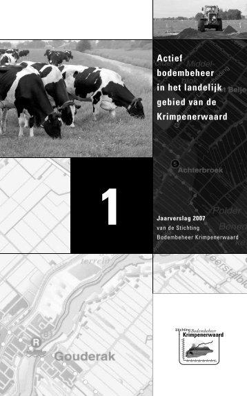 Jaarverslag 2007 - SBK-Krimpenerwaard.nl