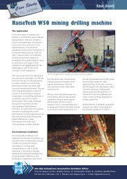 Case Study 16 2008 RaiseTech W50 Mining Drilling ... - hdgasa