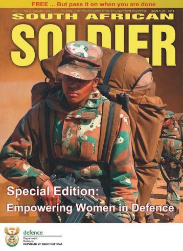 sa soldier - Department of Defence