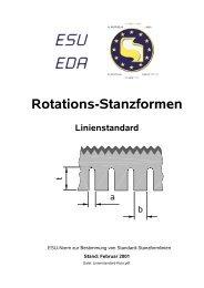 Rotations-Stanzformen Linienstandard - esuinfo.org