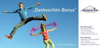 """""""Dankeschön-Bonus"""" - das weisse buero"""