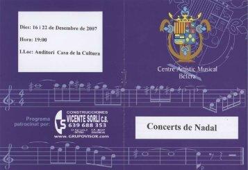 Q - Centre Artístic Musical de Bétera