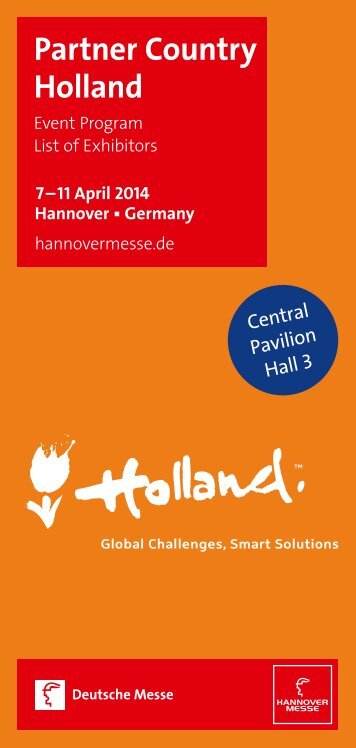 Programma Hannover Messe definitief_0