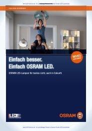 Osram LED Star und Superstar Katalog [PDF; 2,2MB]