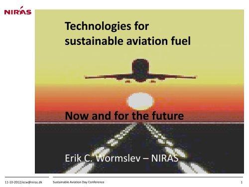 Erik C. Wormslev - NIRAS - Bioenergi