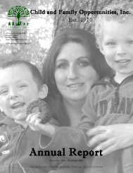 Annual Report December 2010 – November 2011 - Child and ...