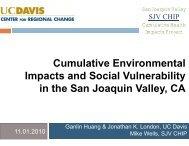 Cumulative Environmental Hazard Index and Health Impact