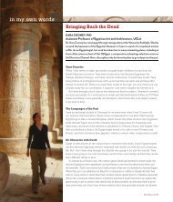 Egyptologist Kara Cooney, Host of Discovery Channel's Out of Egypt