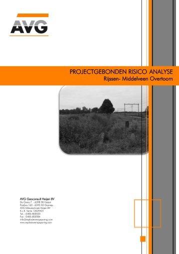 Bijlage 12 Projectgebonden risico-analyse Middelveen-Overtoom