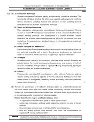 suggested answers - Institute of Cost and Management Accountants ...