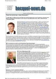 Seite 1 von 2 bocquel-news.de - News 17.03.2009 http://www ...