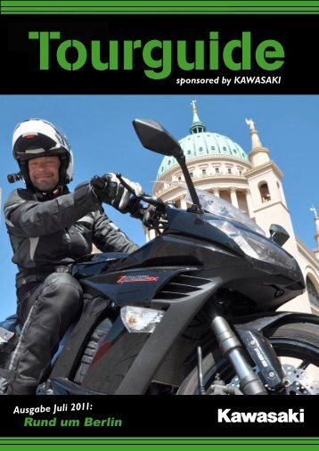 Tourguide sponsored by KAWASAKI