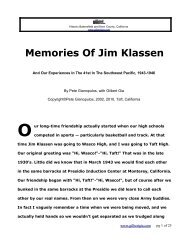 WWII Island Invasions And My Friend Jim by Pete ... - Gilbertgia.com