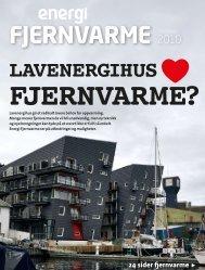 LAVENERGIHUS - Norsk Fjernvarme