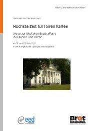 herunterladen (PDF, 9 MB) - Fairer Kaffee in die Kirchen