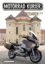 SEPTEMBER2008 - Motorrad-Kurier