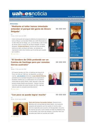 Leer entrevista a Cristina del Moral - Aula de Bellas Artes