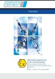 ATEX Checkliste - Pfaff-silberblau