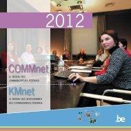 COMMnet - KMnet 2012 programme (PDF, 393.03 Kb) - Fedweb