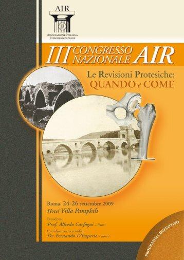 programma definitivo - IPASVI - Roma