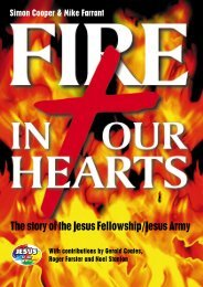 Fire in our hearts - The Jesus Army