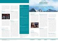 Packageflyer JRM AG Sommer 2009 A3 - Jungfrau Region ...