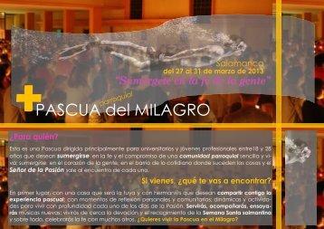 PASCUA del MILAGRO - Jesuitas de Loyola