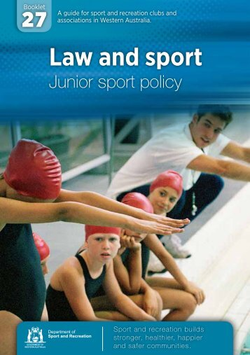 Download Law and sport.pdf 1.44 MB - ClubsOnline