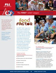 food factor - first