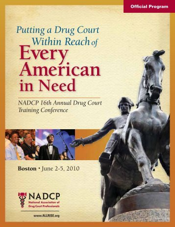 7:00 pm - National Drug Court Institute