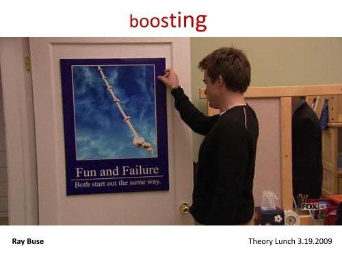 Boosting - ArrestedComputing