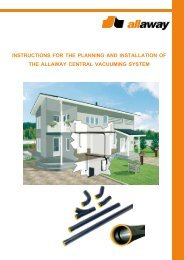 INSTRUCTIONS FOR THE PLANNING AND ... - Allaway Oy