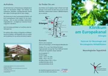 Die neurologische Tagesklinik - Klinikum am Europakanal