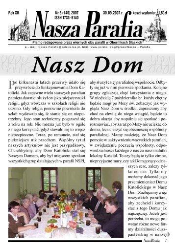 NaszaParaf 2007_Nr_8_do internetu_.indd - Nasza Parafia