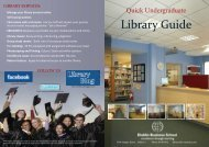 Library Guide - DBS Library - Dublin Business School