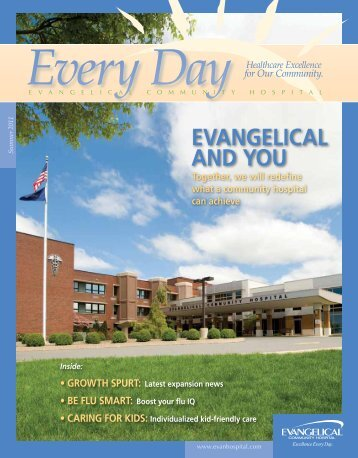 EVANGELICAL AND YOU - Evangelical Community Hospital