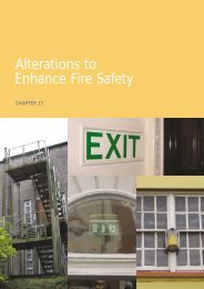 Chapter 17 Alterations to Enhance Fire Safety