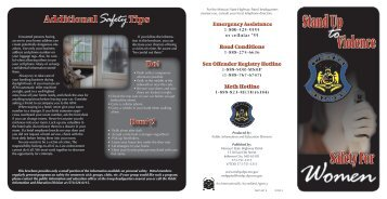 Safety for Women - State Highway Patrol