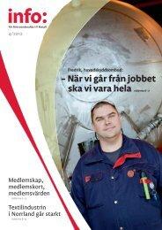 Info nr 4/2012 - IF Metall