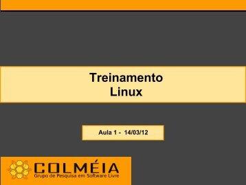 Treinamento Linux - WWW2 - Udesc
