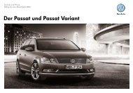 Der Passat und Passat Variant - Volkswagen AG