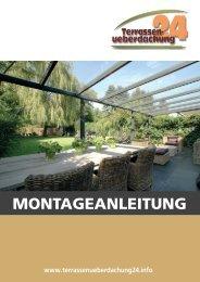 Dank einer Aluminium Terrassen - Terrassenüberdachung24.info
