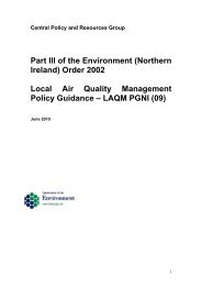 Part III of the Environment (Northern Ireland) Order 2002