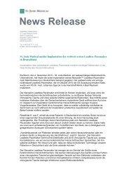 St. Jude Medical meldet Implantation des weltweit ersten Leadless ...