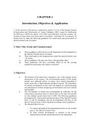 CHAPTER 1 Introduction, Objectives & Application - Kerala Tourism