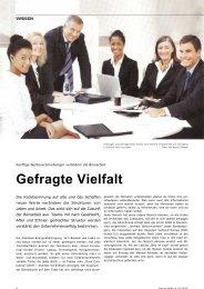 Gefragte Vielfalt - flexible office netzwerk